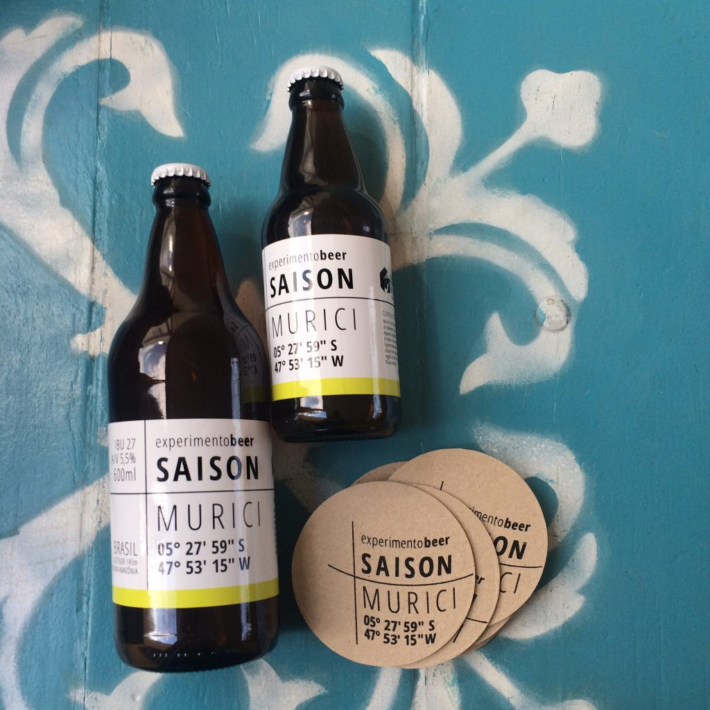 Experimento Beer 1 - Label - DoDeign-s SlowPack 2014