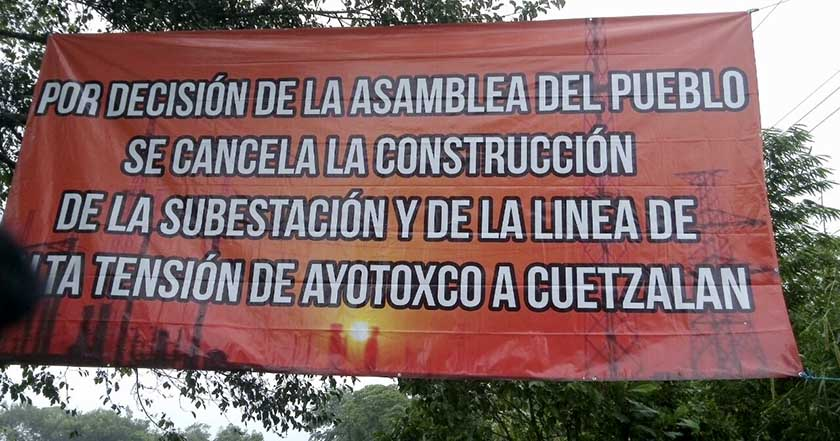 indigenas-clausuran-subestacion-de-cfe-en-cuetzalan