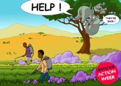 Semaine internationale contre les pesticides : une autre agriculture est possible !