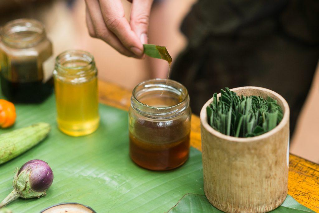Honey tasting