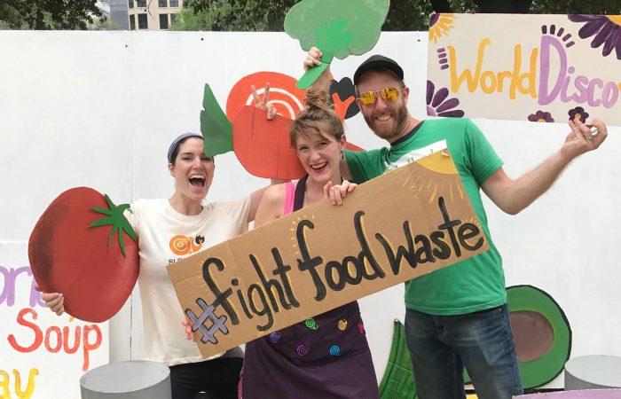 World Disco Soup Day 2018: How 20 tonnes of food waste made people and the planet happy for a day!