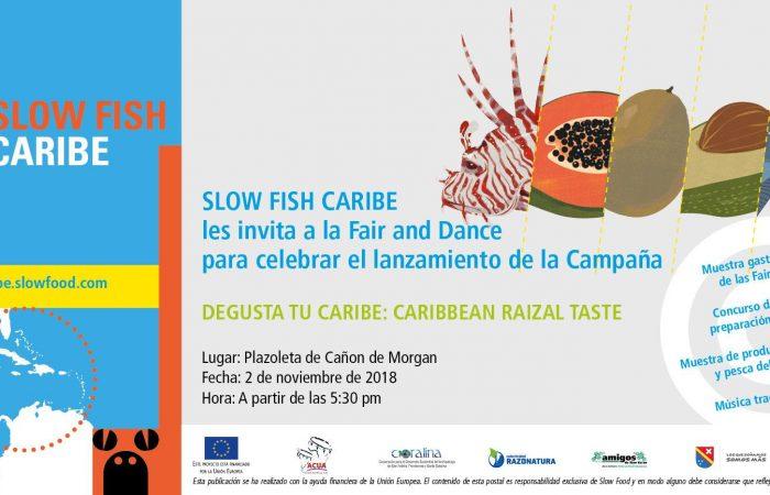 Degusta tu Caribe: Caribbean Raizal Taste, la campaña de Slow Fish Caribe sobre el Consumo Responsable