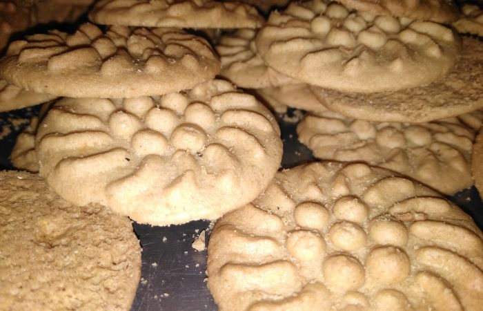Galletas de maíz cacahuacentle*