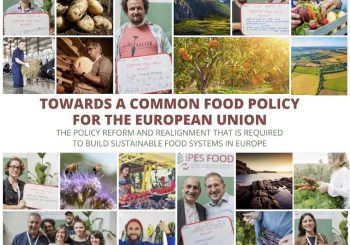 A Common Food Policy for Europe Unveiled by IPES Food: Slow Food Among the Contributors to the Process
