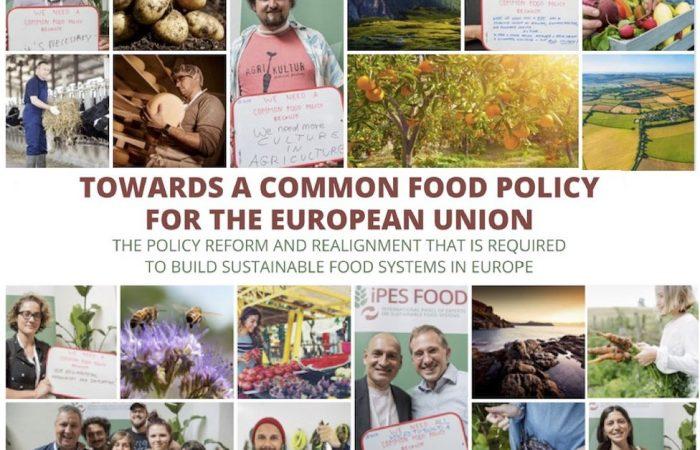 IPES-Food presenta una Política Alimentaria Común para Europa: Slow Food entre los colaboradores del proceso