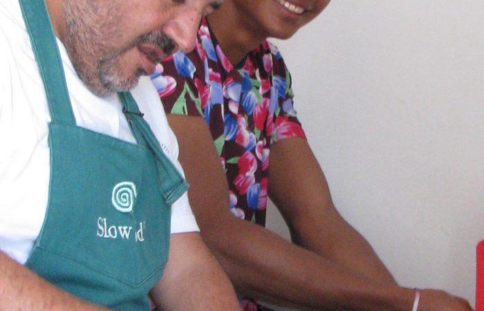 Cangrejo Negro y Cangrejo Azul: intercambio de saberes entre Baluartes Slow Food