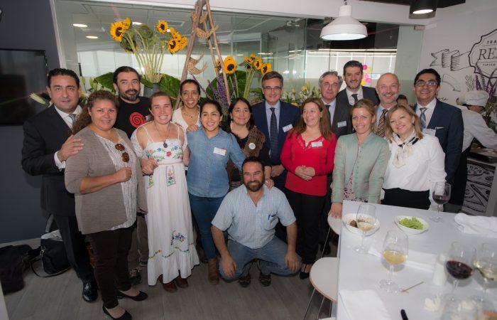 Seis comunidades de Slow Food de Chile  reciben un galardón de la Reale Foundation