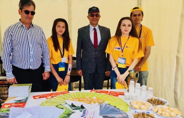Проект КОВЧЕГ на днях EU4YOU в Мингечевире