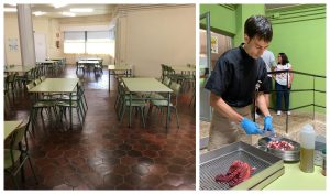 """First """"Zero Food Miles"""" School Canteen in Galicia"""