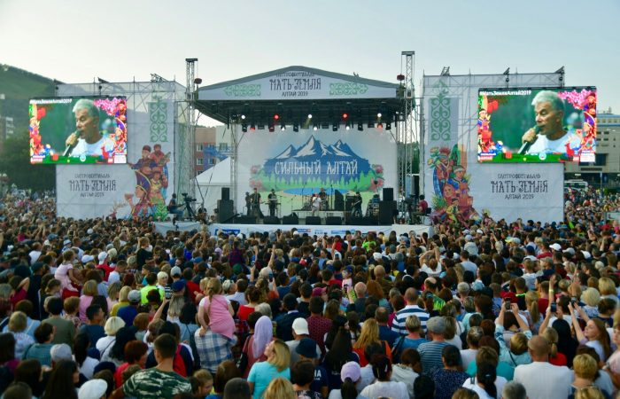 30 000 гостей на первом фестивале Терра Мадре Алтай
