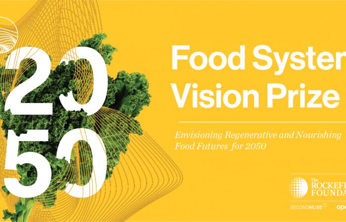 ¿Tienes una visión sobre el futuro sistema alimentario ideal para 2050?