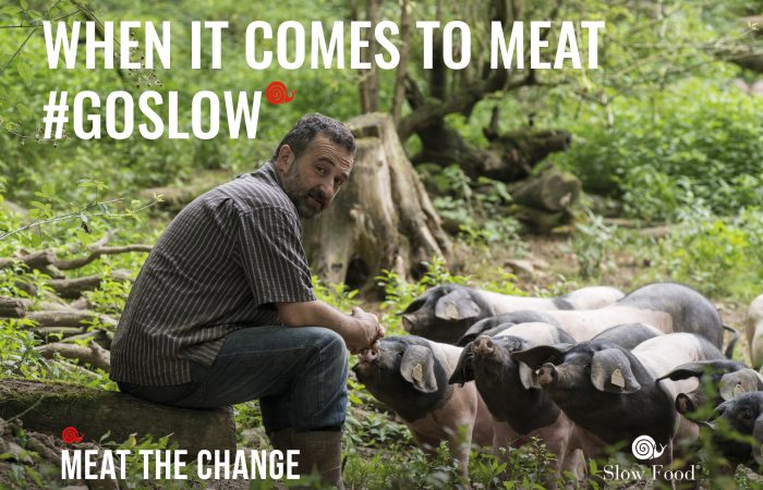 MEAT THE CHANGE: ¡reduzcamos el consumo de carne!