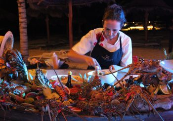 Slow Fish Caribe: Local Lobster Party in Mexico