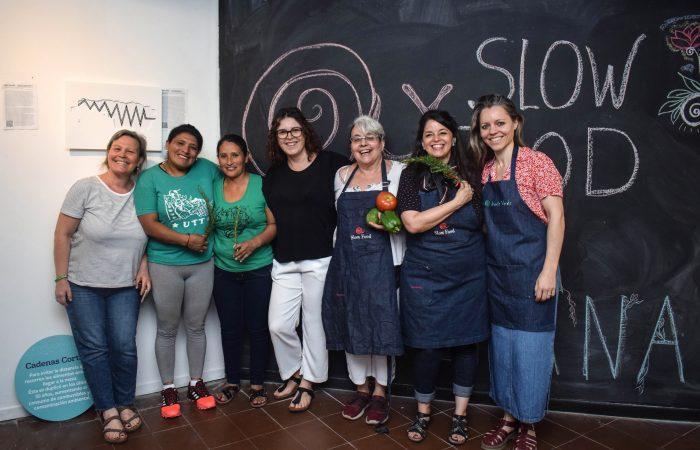Los 30 años de Slow Food de Festejo con la Comunidad Cocina Soberana de Buenos Aires
