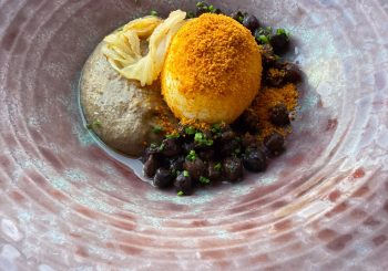 Wild Eggs with Nduja and Black Chickpeas: A recipe by the Italian Chef's Alliance